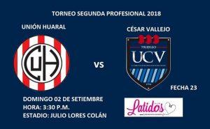 """EN VIVO: """"Unión Huaral vs Universidad César Vallejo, desde el estadio Julio Lores Colàn"""