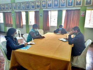 Emapa Huaral y MPH se reunieron para coordinar acciones de cooperación interinstitucional